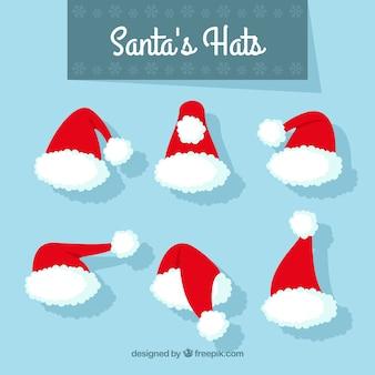 サンタクロース帽子セット