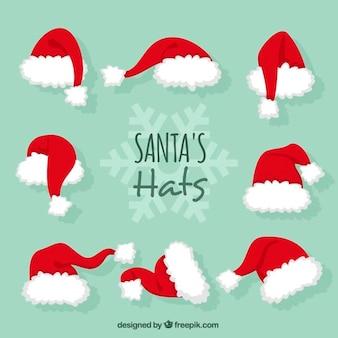 Santa claus hats