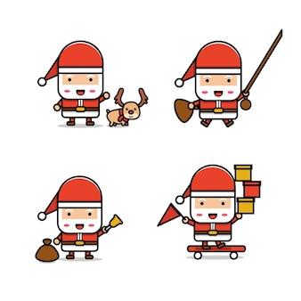 サンタクロースのカワイイコレクション