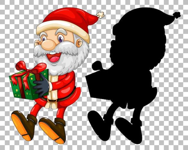 Санта вручает подарок