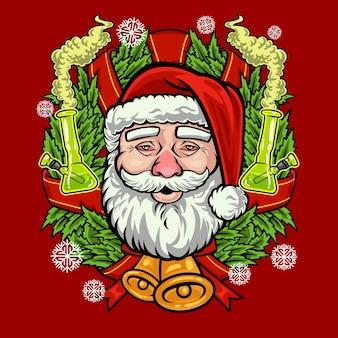 산타 마리화나 크리스마스 휴일