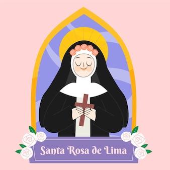 サンタローザデリマのイラスト