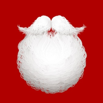 Деды морозы борода иллюстрация