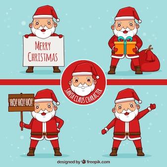 Санты на рождество