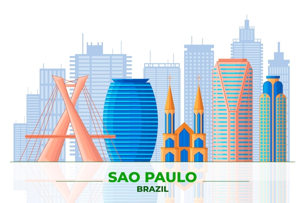 Сан-паулу и различные здания