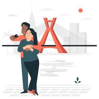 Сан-паулу концепции иллюстрации