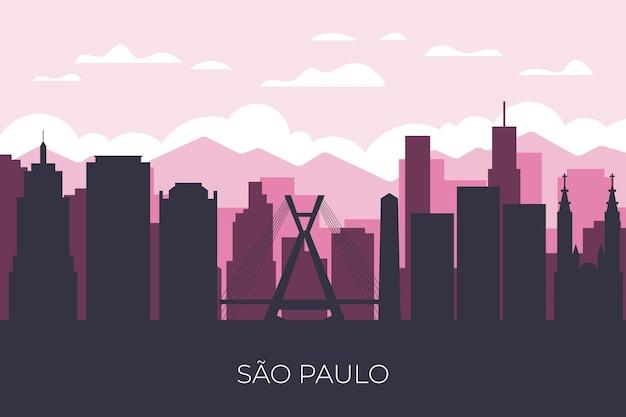 Skyline di sao paulo