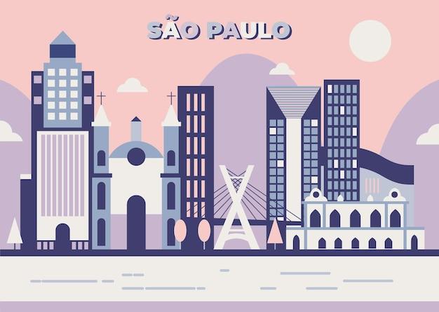 Сан-паулу - линия горизонта