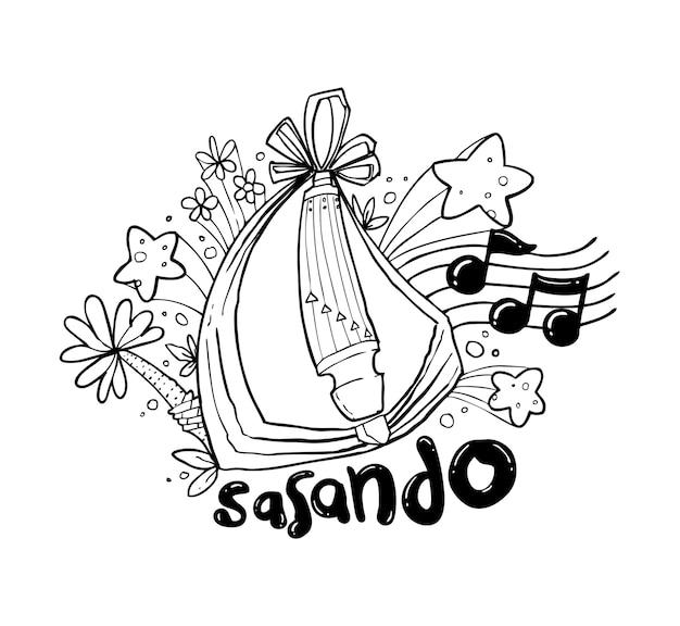 indonesia cartoon vectors photos and psd files free download Korean Food sasando hand drawing