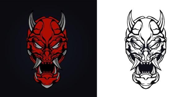 사탄 잉크 삽화 삽화