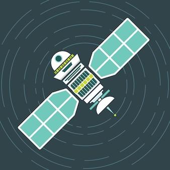 Спутник на орбите