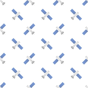 The satellite pattern. artificial satellites orbiting the planet earth, gps. vector stock illustration.