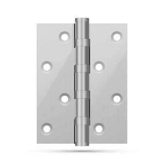 Петля для входной двери из атласного никеля