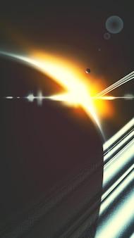 Saturn phone background