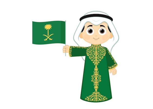 사우디 아라비아 ksa 국경일 축하