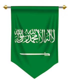 Saudi arabia pennant