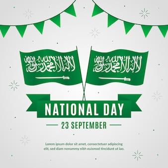 Saudi national day concept