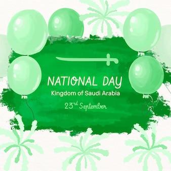 Saudi national day design
