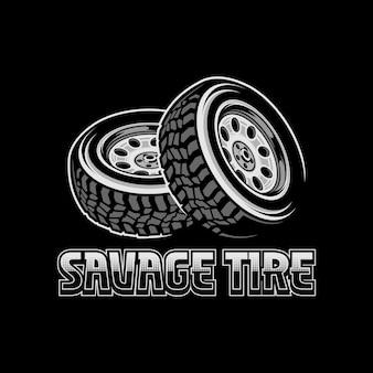 Savage tire