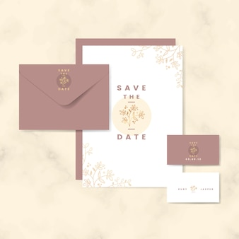 Save a date card collection