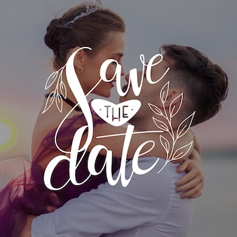 Save the date the newlyweds are going to tell their stories