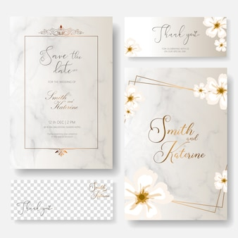 Save the date special day wedding anniversary card