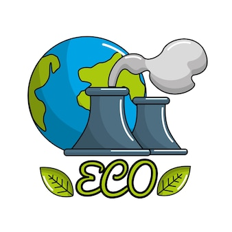 Save planet of pollution factories icon