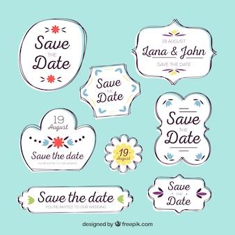 Сохранить метки даты