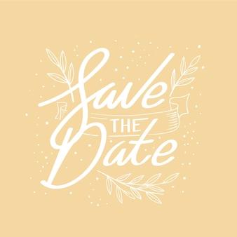 Сохранить дизайн надписи даты