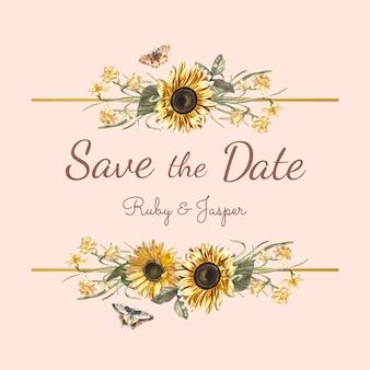 Save the date wedding invitations online in Brisbane