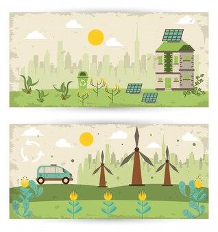 Спасите кампанию природы с пейзажами