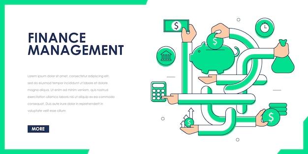 Saving and finance management