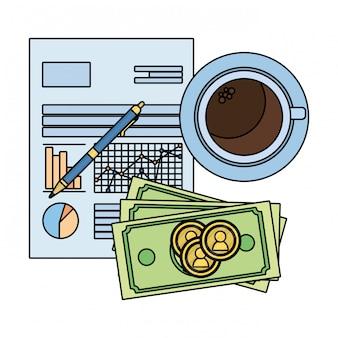 お金を節約漫画