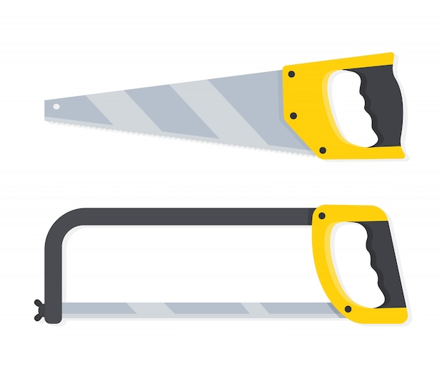Saws for wood, and metal