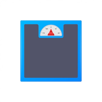 Scales icon. libra isolated