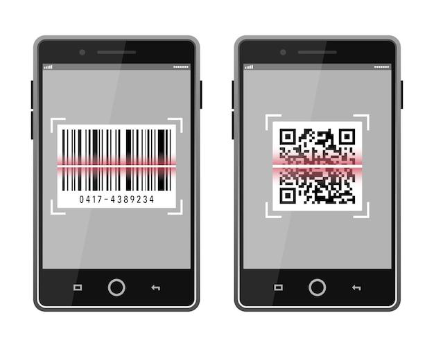 스마트 폰으로 코드 및 바코드 스캔