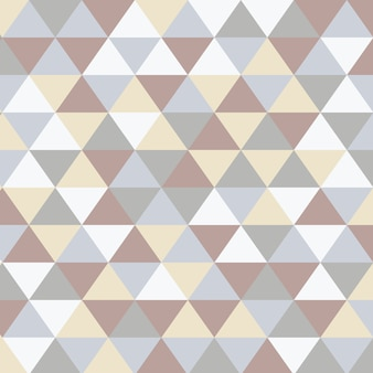 Scandinavian abstract triangular art background