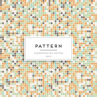 스칸디나비아 원활한 패턴입니다. 패브릭 프린트 디자인