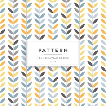Scandinavian seamless pattern