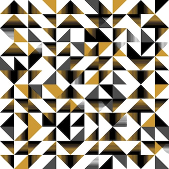 Scandinavian triangle abstract pattern