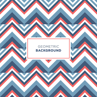 Scandinavian zig zag pattern background