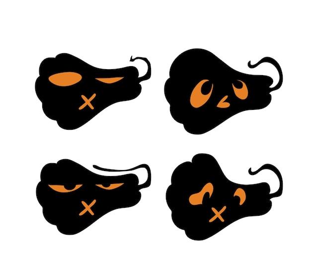 Страшные и забавные тыквы на хэллоуин