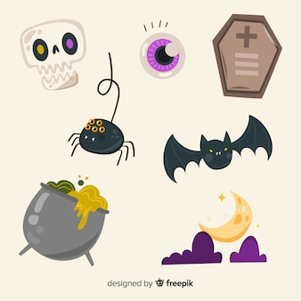 Scary animals and evil things set