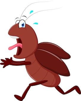 무서운 바퀴벌레 실행 만화