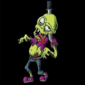 Страшные зомби