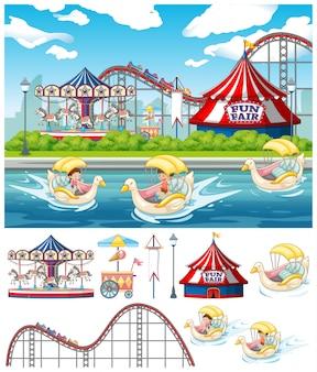 Scene at the carnival