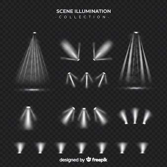 Scene illumination collection