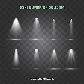 Scene illumination collection