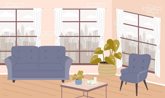 Scene of living room