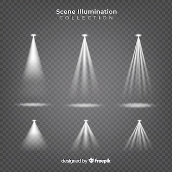 Scene spotlights collection